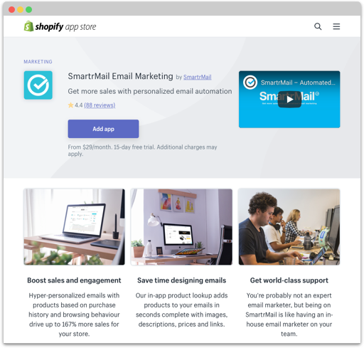 Shopify Email Marketing Integration